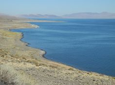 Pyramid Lake is a blue jewel in the desert north of Reno, Nevada