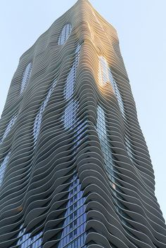 Studio Gang Architects, Aqua Tower, Chicago