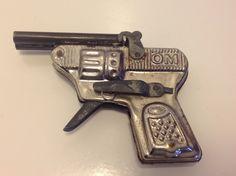 1950's Vintage OM Tin Cap Gun Toy by JeanniesDreamVintage on Etsy