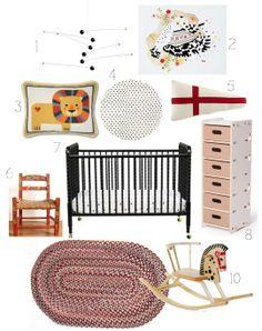A Sweet Scandi Style Nursery