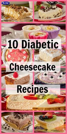 10 Diabetic Cheesecake Recipes These lighter cheesecake desserts have all of the taste with less guilt! The post Our Best Cheesecake Recipes: Top 10 Easy Cheesecake Recipes appeared first on Win Dessert. Diabetic Cheesecake, Best Cheesecake, Easy Cheesecake Recipes, Cheesecake Desserts, Sugarfree Cheesecake Recipes, Simple Cheesecake, Sugar Free Cheesecake, Cookie Recipes, Sugar Free Desserts