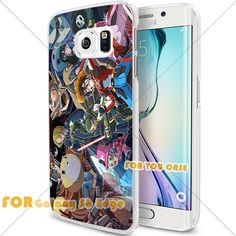 New OnePiece Anime Cartoon Manga Cell Phone29 S6 Edge Case, For-You-Case Samsung S6 Edge White Silicone Case Cover NEW fashionable Unique Design