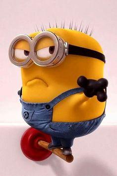 Minion on plunger. Minion Rock, Cute Minions, Minions Despicable Me, My Minion, Minions 2014, Minions Images, Minion Pictures, Minions Quotes, Galaxy S3 Wallpaper