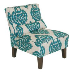 I pinned this Ikat Accent Chair from the Elizabeth Bauer Design event at Joss and Main!