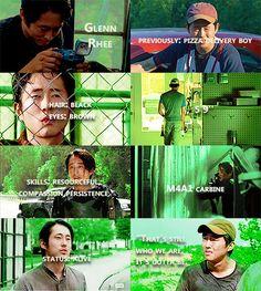 Knowing About Glenn Rhee #TWD