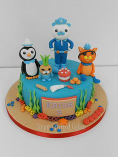 Octonauts birthday - Sugar Crafted Cakes based in Ripon, North Yorkshire