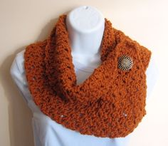 Pumpkin Pie Cowl