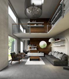 Superb Palettecad D LivingRoom D Render Miwweltrend Mezzanine