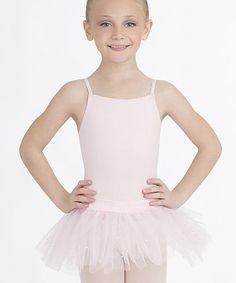 Love this Light Pink Skirted Leotard - Toddler & Girls on #zulily! #zulilyfinds