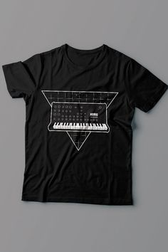 Synthesizer T-shirt by NorthCresTShirts on Etsy