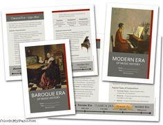 $32 -- a set of reproducible printables for teaching music history.  Includes booklets about each era, corresponding worksheets, a composer timeline, and more!