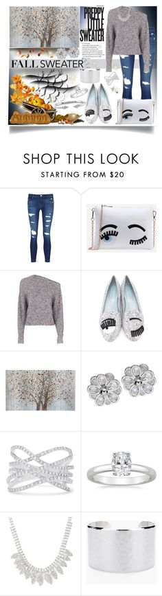 """""""Fall Sweater Contest Entry"""" by jeneric2015 ❤ liked on Polyvore featuring J Brand, T By Alexander Wang, Chiara Ferragni, Pier 1 Imports, Effy Jewelry, Chico's, Vita Fede and Old Navy"""