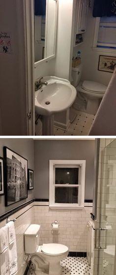Modern Villa House Plans & Interior Architecture Design - Concept-M 210 Small Shower Remodel, Tub Remodel, Diy Bathroom Remodel, Bathroom Ideas, Bathroom Makeovers, Budget Bathroom, Bathroom Designs, Kitchen Remodel, Pallet Wall Bathroom