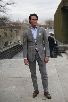 Sprezzatura-Eleganza - At Pitti Uomo, Florence The Sartorialist