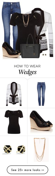 """""""Tory Burch Jackie Wedge Espadrille"""" by cnh92 on Polyvore"""