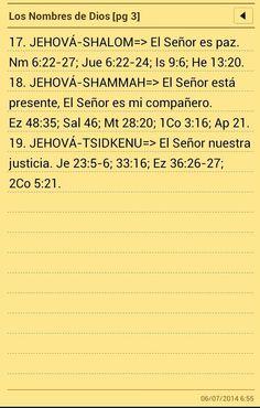 Los nombres de Dios (3)