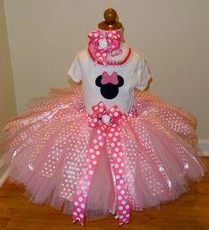 minnie mouse birthday tutu I'm so making this for Kiley