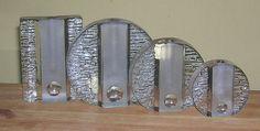 Walther Glas 1960s Scandinavian, 1960s, Mid Century, Retro, Glass, Silver, Vintage, Jewelry, Jewlery