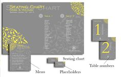 Here you may see a few samples of custom-made seating charts, table numbers, placeholders and menus for wedding receptions. The style and the layout is made according to the overall decoration of the wedding and it's previously approved by the couple. Wedding Menu, Wedding Receptions, Seating Charts, Hercules, Table Numbers, Lorraine, Santorini, Layout, Couple