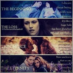 Twilight Saga - Twilight - New Moon - Eclipse - Breaking Dawn - Bella & Edward - True Love