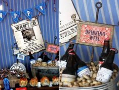 Wild West Cowboy Birthday Party-The Drinking Well