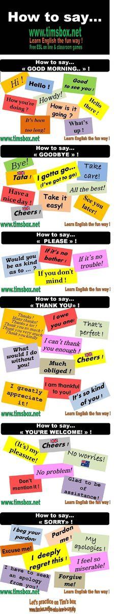 Forum | ________ English Grammar | Fluent LandHow to Say: Good Morning, Good Bye… | Fluent Land