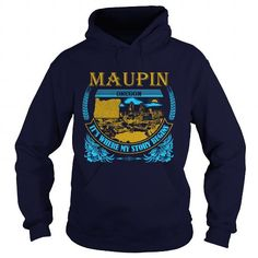 I Love  Maupin -OR  T shirts