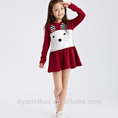 Wholesale Korean Cartoon Cotton Spring&autumn Child Dress For Age 4-15 Years Old Girls Photo, Detailed about Wholesale Korean Cartoon Cotton Spring&autumn Child Dress For Age 4-15 Years Old Girls Picture on Alibaba.com.