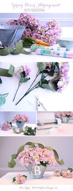 2-DIY-Monogram-Spring-Flower-Arrangement-Kim-Byers