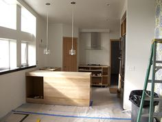 Installing Recycled Glass Countertops