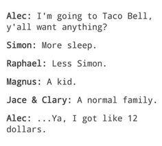Definitely not a normal ! Mortal Instruments Memes, Immortal Instruments, Shadowhunters Series, Shadowhunters The Mortal Instruments, The Infernal Devices, Book Tv, Book Nerd, Shadowhunter Quotes, Alec And Jace