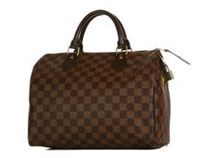 """Not really into """"logo"""" bags, but I've always liked the Louis Vuitton Damier style."""