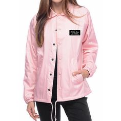 Pink Lady Coach Jacket