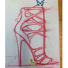 MR MICHAEL GREY FOOTWEAR Ideas ideas.. #michaelgreyfootwear #sketch #heels #shoes #fashion #footwear #design #mgnyc #<br> Fashion Prints, Fashion Art, Fashion Shoes, Fashion Ideas, Fashion Illustration Shoes, Wedding Dress Sketches, Shoe Sketches, Fashion Sketchbook, Fashion Design Sketches