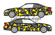 CAR CAMOUFLAGE KIT DECALS STICKERS CAMOUFLAGE ANY 2 COLOURS BMW Camo Kit 2 Colours, Car Pictures, Vinyl Decals, Camouflage, Bmw, Stickers, Military Camouflage, Camo, Decals