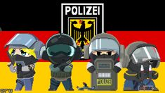 Rainbow Six Siege - GSG 9 fan art by Crusader1291