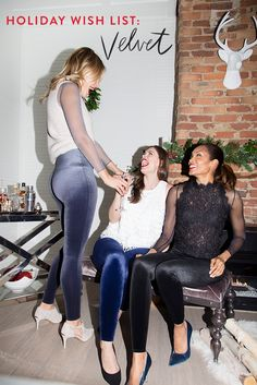Leggings designed for any celebration with fashion + functionality in mind.