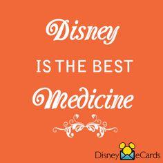 Disney is the very best medicine!!! :)