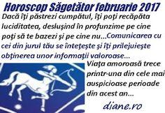 Horoscop februarie 2017 Săgetător Ecards, Astrology, E Cards