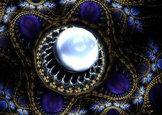 Fractal  Julian  Pearl Jewelry by Kseniya-Omega
