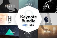 8 Presentation Bundle | SAVE 64% by GoaShape on @creativemarket