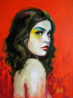 Portrait Paintings by Emma Uber   Cuded