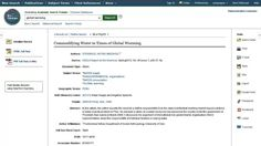 Reading an Article on EBSCOhost & Article Tools - Tutorial