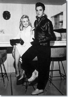 Elvis Presley | Hannerl Melcher December 1957 ~ Hannerl met Elvis in Las Vegas in November 1957, and visited Graceland at Christmas time with her roommate, Kathy Gabriel, who was 1957's Miss Ohio at the 'Miss USA' contest. Hannerl was Austria's representative in the 'Miss Universe' pageant. Both contests were held July 19 in Long Beach, CA. Neither girl won their respective titles. A couple of years later, the lovely Ms. Melcher did nab a bit part in 'G.I. Blues' -- as the strolling singer…