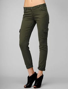 Paige Denim Layne Cargo - Jungle
