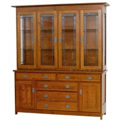 Hutch Sante Fe Furniture Made in USA available at Amish Oak and Cherry
