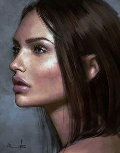Paintable.cc | 50 Stunning Digital Painting Portraits: Isabella Morawetz #digitalpainting #portrait #inspiration