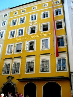 Things to do in Salzburg - find some inspiration for your Austria holiday! #iAustria # Salzburg #Mozart #travel #city