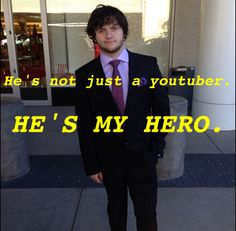 Adam (skydoesminecraft) is one of the only things that makes me happy. His videos are one of the only things that can make me laugh. This man is amazing. <3