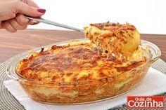 Lasanha de batata com frango: Confira esta receita de lasanha de batata com frango, que além de deliciosa, é muito prática e baratinha, e…